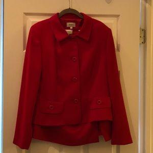Neiman Marcus Red Skirt Suit